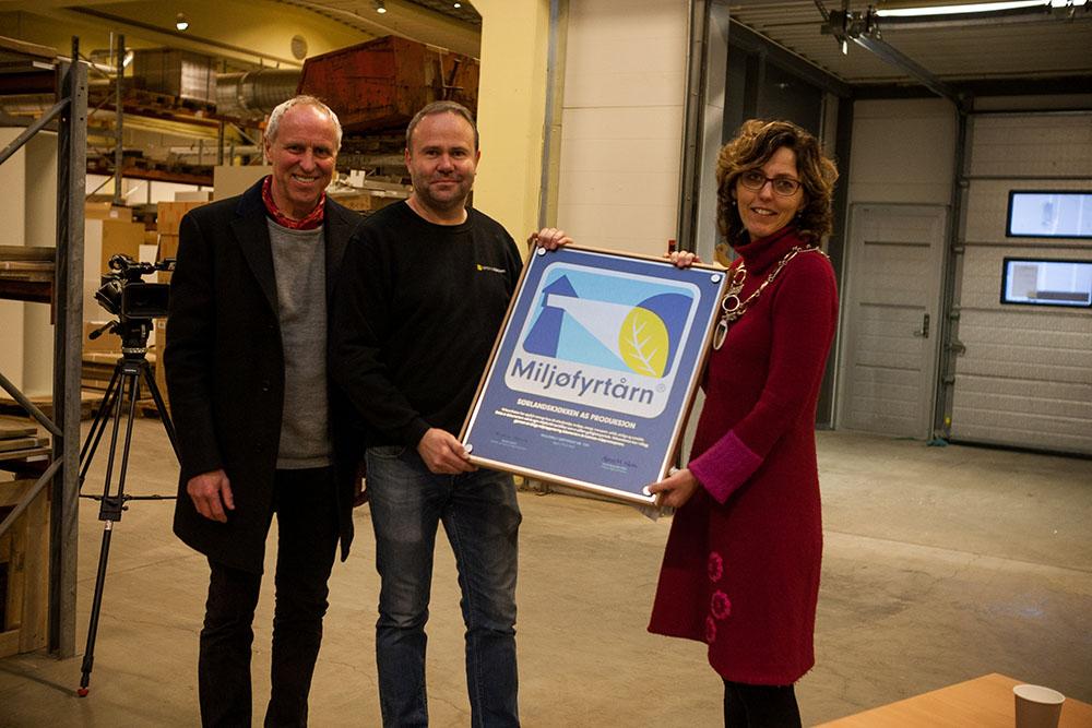 Sørlandskjøkken mottar miljøfyrtårn sertifisering - Kjøkken fra ...