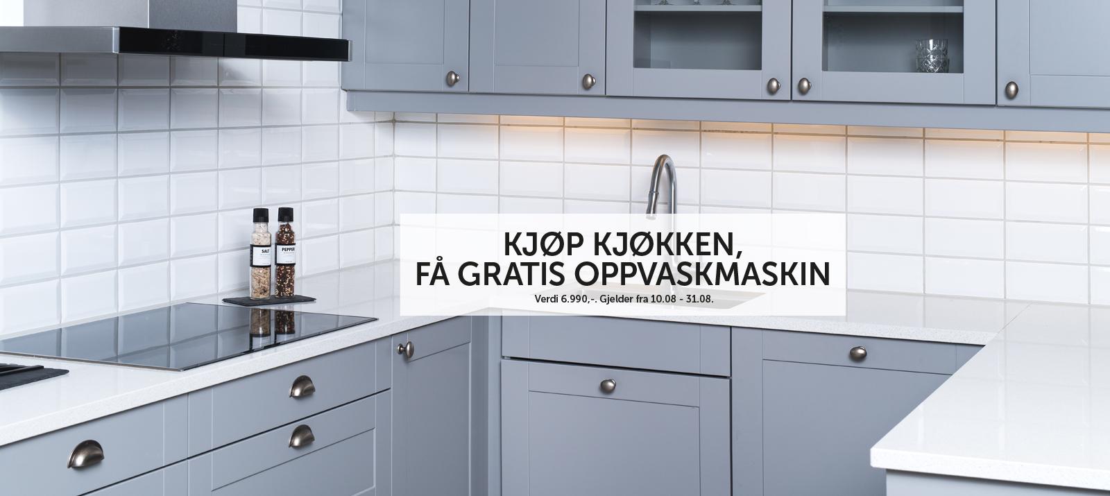 Kjøkken kampanje august