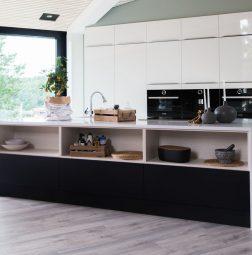 Bygget på huset i Høvåg – fikk drømmekjøkkenet