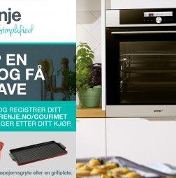 Kampanje fra Gorenje – Kjøp en ovn og få en gave!